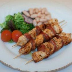 Chicken & Chorizo Skewers recipe