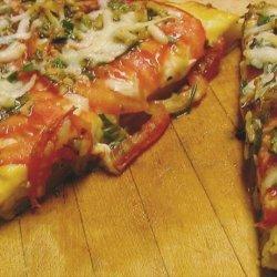 Peasants' Tomato Pie recipe