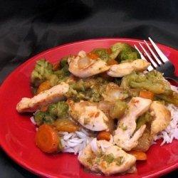 Chicken Stir Fry Dinner (Lite-Bleu) recipe