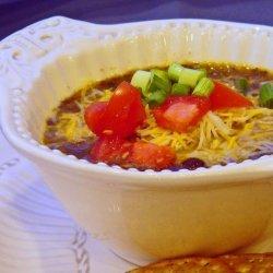 Boulder Black Bean Soup recipe