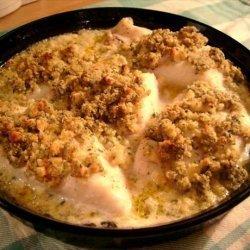 Baked Haddock With Mustard Crumbs recipe