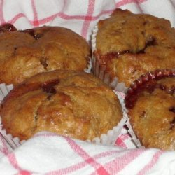 Corn Flake Jam Filled Muffins recipe