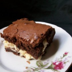 Almond Cheesecake Brownies recipe