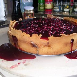 Pomegranate Cheesecake recipe