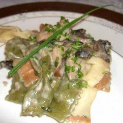 Orecchiette Pasta With Wild Mushroom Cream Sauce- Emeril Lagasse recipe