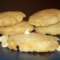 White Chocolate Chip Lemon Cookies recipe