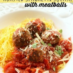 Spaghetti Squash and Meatballs recipe