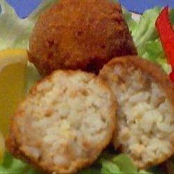 Shrimp and Rice Croquettes recipe