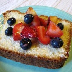 Abby's Cream Cheese Pound Cake recipe