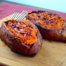 Twice Baked Sweet Potatoes (The Neely's) recipe