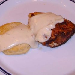 Chicken Fried Chicken With Country Gravy recipe