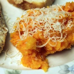 Parmesan Mashed Butternut Squash recipe