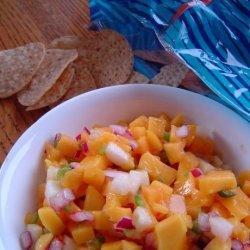 Fresh & Healthy Mango and Cucumber Salsa recipe