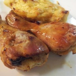 Pioneer Woman's Spicy Roasted Chicken Legs recipe