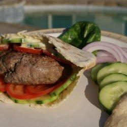 Turkish Feta Burgers recipe