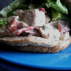 Low Fat Chunky Chicken Salad recipe