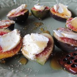 Simple Fig & Mascarpone Dessert (Or Tapas) recipe