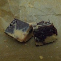 Peanut Butter and Chocolate Marble Fudge recipe