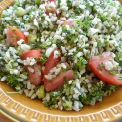 Rice Salad With Mint recipe