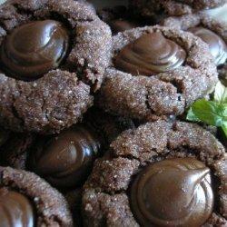 Bailey's Irish Cream Kiss Chocolate Cookies recipe