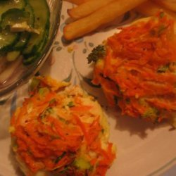 Low Fat Carrot and Zucchini Mini Frittatas recipe