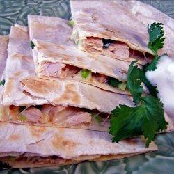 Low Fat Chicken and Avocado Quesadillas recipe