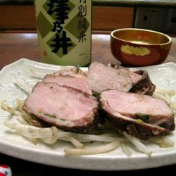 Pork Chops With Miso-Red Wine Sauce recipe