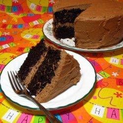 Perfect One-Bowl Chocolate Layer Cake recipe