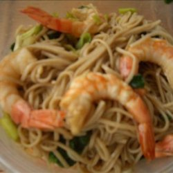Soba and Shrimp Salad recipe