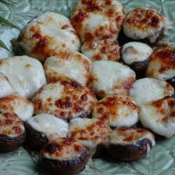 Mushrooms Stuffed With Swiss Cheese recipe