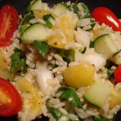 Summery Brown Rice Salad With Fresh Herbs recipe