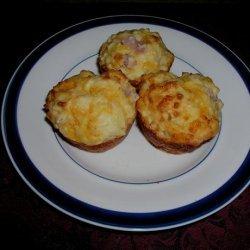 Ham Cheese and Pineapple Muffins recipe