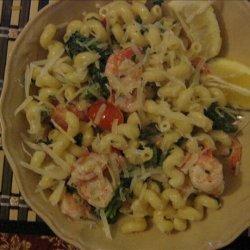 Lemon Cream Shrimp and Pasta recipe