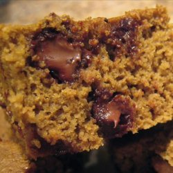 Pumpkin Chocolate Chip Brownies recipe
