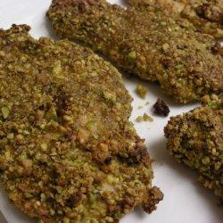 Pistachio Chicken Strips recipe