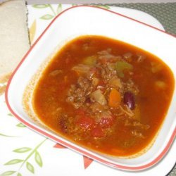 Beef Cabbage Carrot Soup recipe