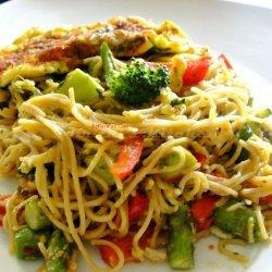 Pasta With Vegetables recipe