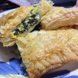 Spinach Pie in Puff Pastry (Spanakopita) recipe