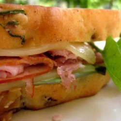 Italian Grilled Ham and Cheese Sandwich recipe