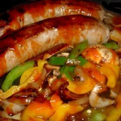 Italian Sausage and Peppers Stir Fry recipe