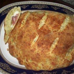 Pepperoni Cheese Bread / Calzone recipe