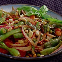 Basil and Balsamic Green Bean Salad recipe