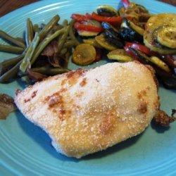 Easy Parmesan Baked Chicken recipe