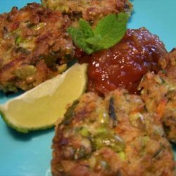 Spicy Soybean Patties With Mint recipe