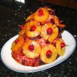 Rita's Sweet Holiday Baked Ham recipe