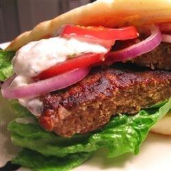 Gyros Burgers recipe