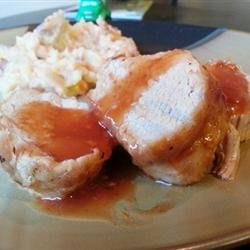 Maple Baked Pork Loin Roast recipe