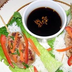 Asian Roll Lettuce Wrap recipe