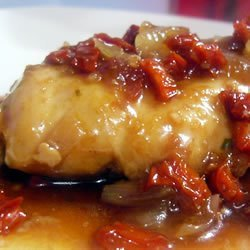 Onion Chicken in Balsamic Sauce recipe