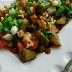 Chicken Honey Nut Stir Fry recipe